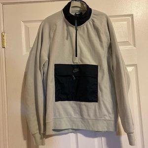 Nike Pullover Halfzip Fleece Sweatshirt